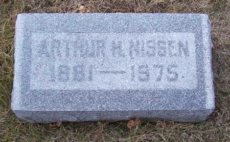 NISSEN, ARTHUR H. - Shelby County, Iowa | ARTHUR H. NISSEN