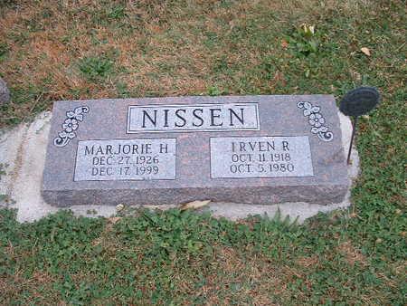 NISSEN, IRVEN R - Shelby County, Iowa | IRVEN R NISSEN