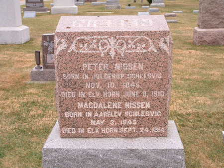 NISSEN, PETER - Shelby County, Iowa | PETER NISSEN
