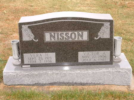 NISSON, VICTOR A - Shelby County, Iowa | VICTOR A NISSON