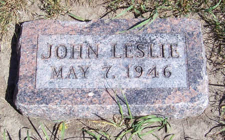 NOBLE, JOHN LESLIE - Shelby County, Iowa | JOHN LESLIE NOBLE