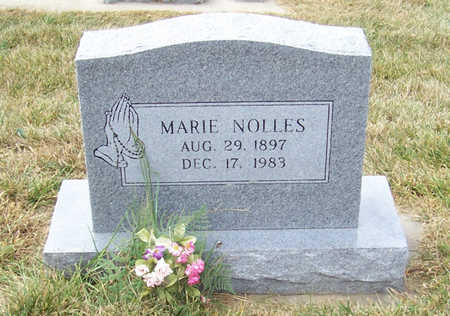 NOLLES, MARIE - Shelby County, Iowa | MARIE NOLLES