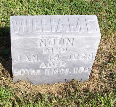 NOON, WILLIAM E. - Shelby County, Iowa | WILLIAM E. NOON