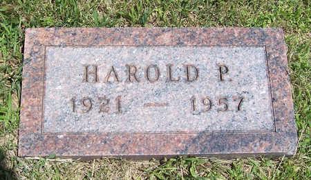 OHLINGER, HAROLD P. - Shelby County, Iowa | HAROLD P. OHLINGER