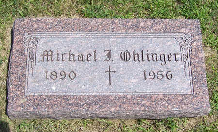 OHLINGER, MICHAEL J. - Shelby County, Iowa | MICHAEL J. OHLINGER