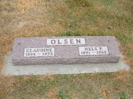 OLSEN, CLAUDINE - Shelby County, Iowa | CLAUDINE OLSEN