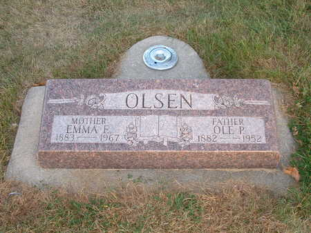 O'BRIEN OLSEN, EMMA E - Shelby County, Iowa | EMMA E O'BRIEN OLSEN