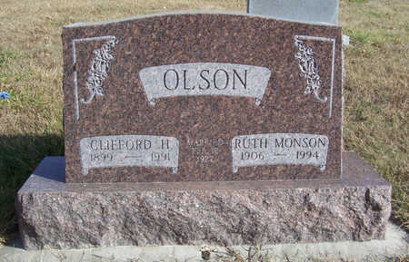 MONSON OLSON, RUTH - Shelby County, Iowa | RUTH MONSON OLSON