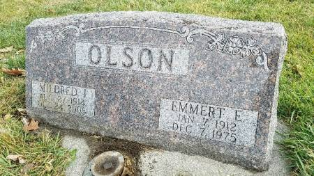 OLSON, EMMERT E. - Shelby County, Iowa | EMMERT E. OLSON
