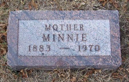 OSBAHR, MINNIE (MOTHER) - Shelby County, Iowa | MINNIE (MOTHER) OSBAHR