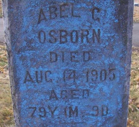 OSBORN, ABEL C. - Shelby County, Iowa | ABEL C. OSBORN