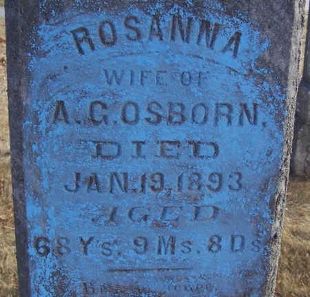 OSBORN, ROSANNA (CLOSE-UP) - Shelby County, Iowa | ROSANNA (CLOSE-UP) OSBORN