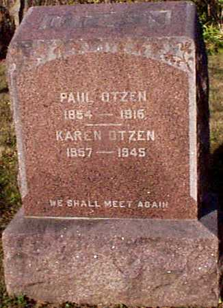 OTZEN, PAUL - Shelby County, Iowa | PAUL OTZEN