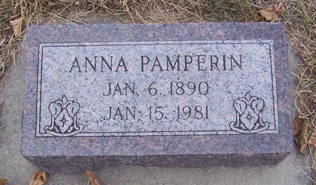 PAMPERIN, ANNA - Shelby County, Iowa | ANNA PAMPERIN