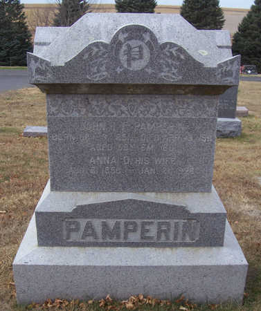 PAMPERIN, JOHN H. F. - Shelby County, Iowa | JOHN H. F. PAMPERIN