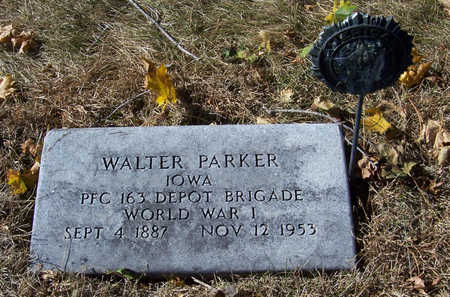 PARKER, WALTER (MILITARY) - Shelby County, Iowa | WALTER (MILITARY) PARKER