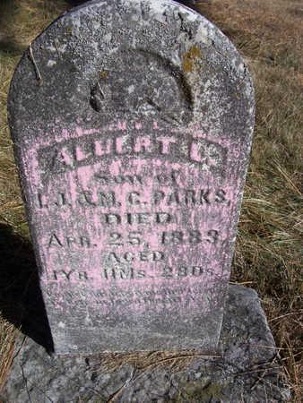 PARKS, ALBERT L. - Shelby County, Iowa | ALBERT L. PARKS
