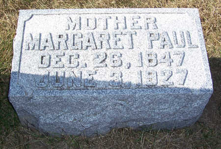 PAUL, MARGARET (MOTHER) - Shelby County, Iowa | MARGARET (MOTHER) PAUL
