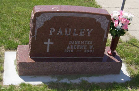 PAULEY, ARLENE W. - Shelby County, Iowa | ARLENE W. PAULEY