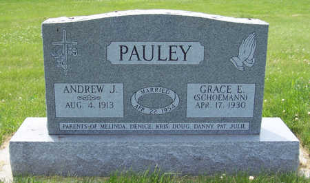 SCHOEMANN PAULEY, GRACE E. - Shelby County, Iowa | GRACE E. SCHOEMANN PAULEY