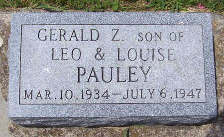 PAULEY, GERALD Z. - Shelby County, Iowa | GERALD Z. PAULEY