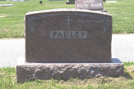 PAULEY, JOHN JOSEPH & MARY C. (LOT) - Shelby County, Iowa | JOHN JOSEPH & MARY C. (LOT) PAULEY