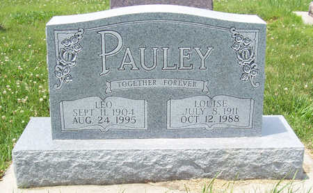 PAULEY, LEO - Shelby County, Iowa | LEO PAULEY