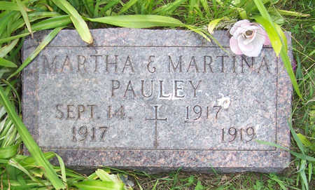 PAULEY, MARTINA - Shelby County, Iowa | MARTINA PAULEY