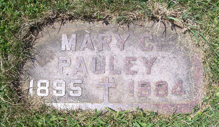 PAULEY, MARY C. - Shelby County, Iowa | MARY C. PAULEY