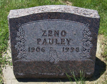 PAULEY, ZENO - Shelby County, Iowa | ZENO PAULEY