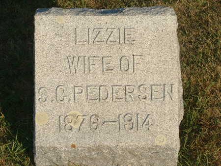 PEDERSEN, LIZZIE - Shelby County, Iowa | LIZZIE PEDERSEN