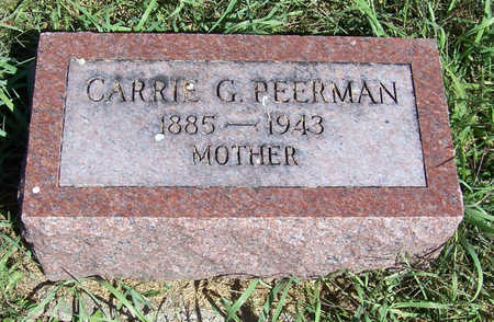PEERMAN, CARRIE G. (MOTHER) - Shelby County, Iowa | CARRIE G. (MOTHER) PEERMAN