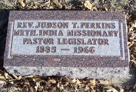PERKINS, JUDSON T. (REV.) - Shelby County, Iowa | JUDSON T. (REV.) PERKINS