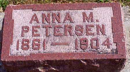 HANSEN PETERSEN, ANNA M - Shelby County, Iowa | ANNA M HANSEN PETERSEN