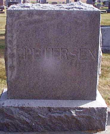 PETERSEN, ARTHUR - Shelby County, Iowa   ARTHUR PETERSEN