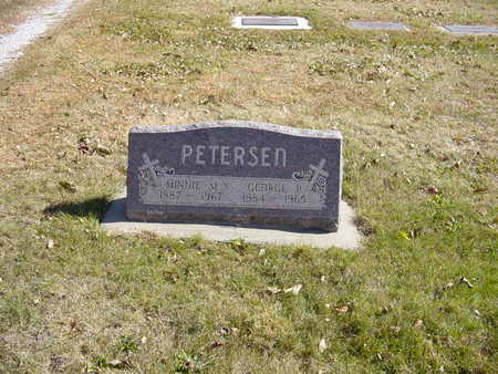 PETERSEN, GEORGE P - Shelby County, Iowa | GEORGE P PETERSEN