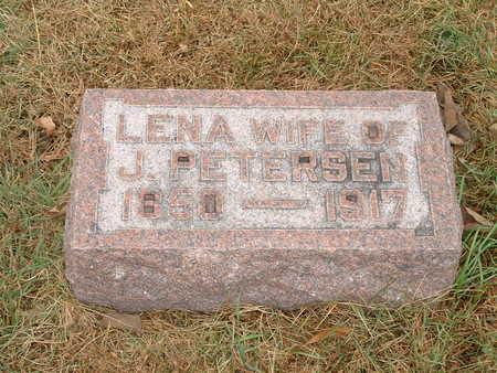 PETERSEN, LENA J - Shelby County, Iowa | LENA J PETERSEN