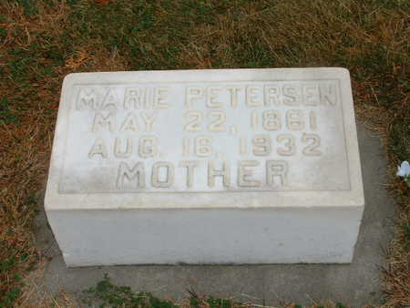 PETERSEN, MARIE - Shelby County, Iowa | MARIE PETERSEN