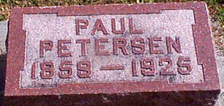 PETERSEN, PAUL - Shelby County, Iowa | PAUL PETERSEN