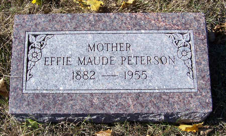 PETERSON, EFFIE MAUDE (MOTHER) - Shelby County, Iowa | EFFIE MAUDE (MOTHER) PETERSON
