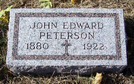 PETERSON, JOHN EDWARD - Shelby County, Iowa | JOHN EDWARD PETERSON