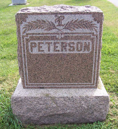 PETERSON, LOUIS & BERTHA (LOT) - Shelby County, Iowa | LOUIS & BERTHA (LOT) PETERSON