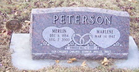 PETERSON, MERLIN - Shelby County, Iowa | MERLIN PETERSON