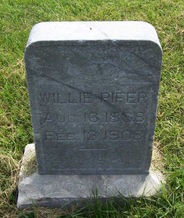 PIFER, WILLIE - Shelby County, Iowa | WILLIE PIFER