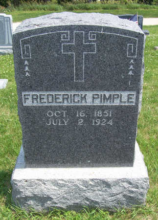 PIMPLE, FREDERICK - Shelby County, Iowa | FREDERICK PIMPLE