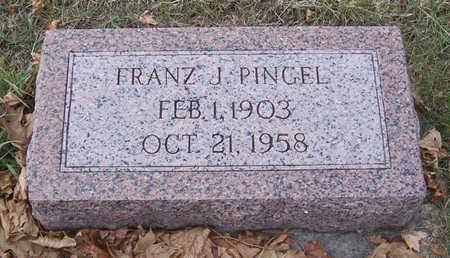 PINGEL, FRANZ J. - Shelby County, Iowa | FRANZ J. PINGEL