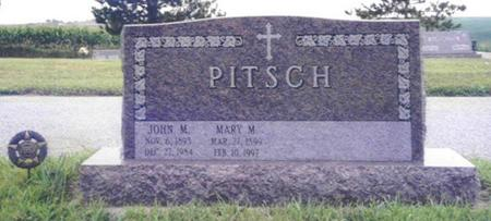 PITSCH, JOHN MICHAEL - Shelby County, Iowa | JOHN MICHAEL PITSCH