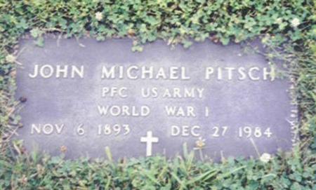 PITSCH, JOHN MICHAEL - Shelby County, Iowa   JOHN MICHAEL PITSCH