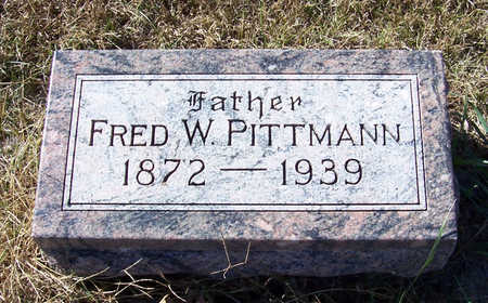 PITTMANN, FRED W. (FATHER) - Shelby County, Iowa | FRED W. (FATHER) PITTMANN