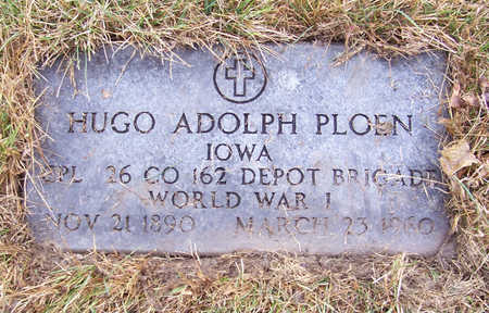 PLOEN, HUGO ADOLPH (MILITARY) - Shelby County, Iowa | HUGO ADOLPH (MILITARY) PLOEN